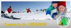 Wandelen, slee�n, langlaufen in de Ardennen sneeuw