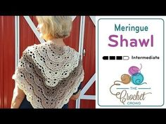 Crochet Fluffy Meringue Shawl + Tutorial - The Crochet Crowd