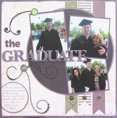 Graduation Layout using CTMH Moonlight by Wandering Scissors