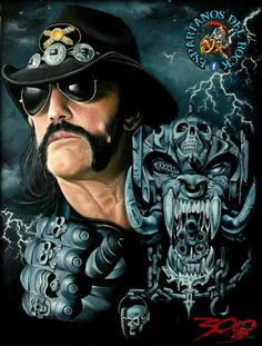 Heavy Metal Art, Black Metal, Hard Rock, Power Metal, Lemmy Kilmister, Motorhead Ace Of Spades, Rock Band Posters, Band Wallpapers, Tribute