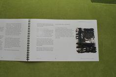 Modernismi ja nykytaide -teosanalyysi, 3 op, (3/4). Taitettu kierresidonta. Arvosana: 5. Muotoiluinstituutti, 2002–2006, viestinnän koulutusohjelma, graafinen suunnittelu. © Natasha Varis, 2004.