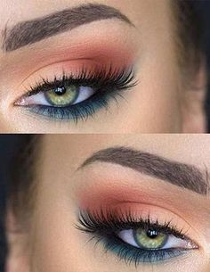 Six Bride Wedding Day Eye Makeup Ideas