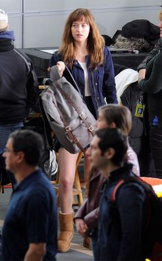 Dakota Johnson from Fifty Shades of Grey: Behind-the-Scenes Pics | E! Online