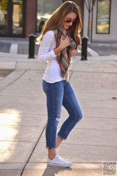 3. #Speaking of Casual, a #Simple and Fitted #Shirt and Jeans Work #Wonders…