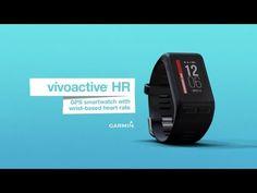 38911083481b5 Garmin vivoactive HR GPS Smartwatch with Wrist-based Heart Rate (010-01605-