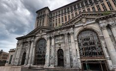 Michigan Central Station - Detroit-Michigan.