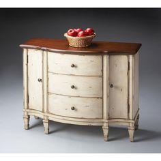Butler Specialty Artists' Originals Sheffield Vanilla & Cherry Cabinet