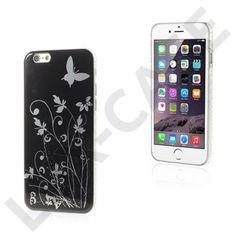 Butterflies (Sort) iPhone 6 Cover