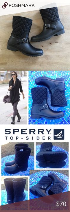 SPERRY Weather Boot EUC! Re-posh, only worn once Sperry Shoes Winter & Rain Boots
