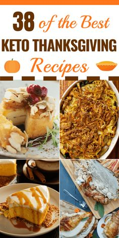 38 Keto Thanksgiving Recipes The best low carb Thanksgiving recipes for the feast of your dreams! Cauliflower stuffing, green bean casserole, Brussels Sprouts, low carb pumpkin cheesecake and pecan pies-we're just getting warmed up! Your keto Thanksgiving Desserts Keto, Keto Friendly Desserts, Dessert Recipes, Brownie Recipes, Recipes Dinner, Low Carb Keto, Low Carb Recipes, Diet Recipes, Low Carb Pecan Pie Recipe