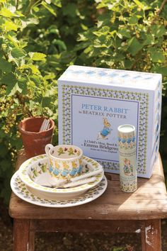 A wonderful present for a new baby boy or for a Christening perhaps. Our Boxed set of Peter Rabbit Plate, Baby Bowl and Baby Mug will be hugely popular with child and parents alike. #EmmaBridgewater #PeterRabbit #Kids