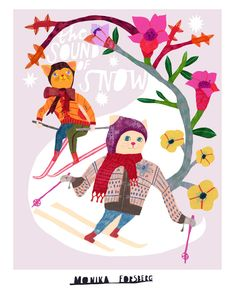 I love Monika Forsberg's work.  Her entry for the Lilla Rogers Global Talent Search.