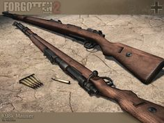WW2 German K98k Mausers