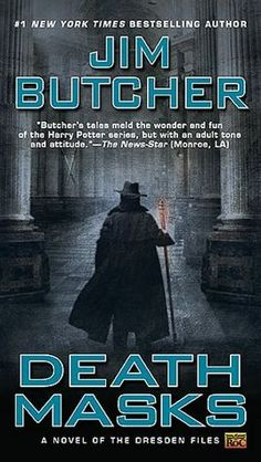 Death Masks (Dresden Files Series #5) - we meet all 3 Knights of the Cross and the Denarians