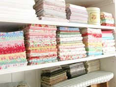 A Little Bit Biased: Sew Inspiring Rooms {Pretty By Hand}