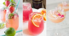Take a look at the top homemade lemonade recipes. You will find the best lemonade recipes. It's the perfect drink for summer! Take a look at the top homemade lemonade recipes. You will find the best lemonade recipes. It's the perfect drink for summer! Good Lemonade Recipe, Best Lemonade, Homemade Lemonade Recipes, Raspberry Lemonade, Strawberry Limeade, Sparkling Lemonade, Melon Lemonade, Lemonade Cocktail, Homemade Recipe