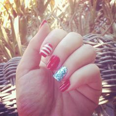 4th of July Nail Ideas!