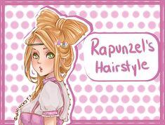 Rapunzel's Hairstyle by ShaniNeko on deviantART