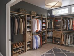 """Get creative and convert a small room into the ultimate walk-in closet, says Egypt Sherrod, host of HGTV's """"Flipping Virgins"""" and """"Property Virgins."""""""