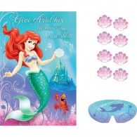 Black Friday 2014 Ariel the Little Mermaid Sparkle Party Game Poster from Amscan Cyber Monday Little Mermaid Party Supplies, Mermaid Party Games, Little Mermaid Birthday, Little Mermaid Parties, Ariel The Little Mermaid, Game Poster, Sparkle Party, Shops, Birthday Party Themes