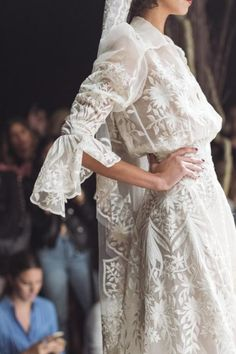 Naeem Khan Bridal Fall 2017 / Wedding Style Inspiration / LANE