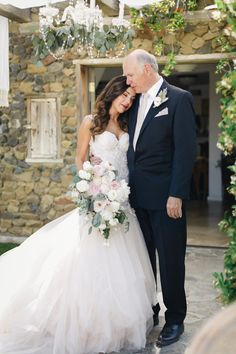 """Oh my gracious, this dress.This custom designed Galia Lahav dress is what we all dream of, and in the words of the Bride, """"I have never felt more beautiful than the moment Derek opened his eyes and saw me in it"""