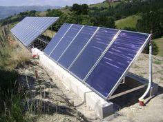 Placas solares térmi