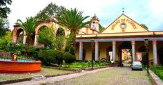 La ex Hacienda Molino de las Flores y la Catedral de Texcoco, Estado de México