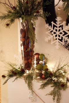 Christmas Mantle 2010