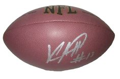 Keenan Allen Autographed NFL Wilson Composite Football, Proof Photo. Keenan Allen Signed NFL Football, Los Angeles Chargers, California Golden Bears, Proof  This is a brand-new Keenan Allen autographed NFL Wilson composite football.  Keenan signed the football in silver paint pen. Check out the photo of Keenan signing for us. ** Proof photo is included for free with purchase. Please click on images to enlarge. Please browse our website for additional NFL & NCAA football autographed...