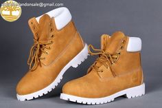 9fc46d0b176e Custom Wheat-White Heritage Warm Lined Men Timberland 6 Inch Boot  95.99