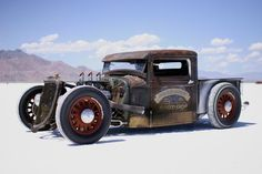 Gotta have a rat rod pick up