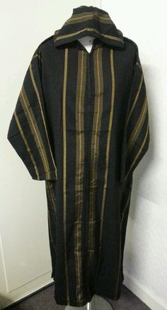 Moroccan Hooded Long Sleeves Jubba Thobe Jalabah Dishdash Sizes 52 54 Only | eBay
