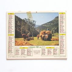 almanach 1981Jura - Deco Graphic