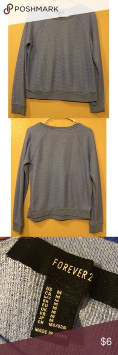 0f9a20d8054b Baby Blue Forever 21 Sweater Baby blue sweater from Forever 21