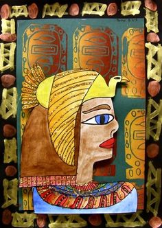 Ancient Egyptian Profile, 6th
