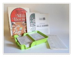 MILLE BORNE Card Game 1964 Vtg LN Complete! Parker Brothers French Auto Racing | eBay
