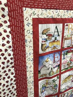 Create This Lovely Hungry Animal Alphabet Quilt With This Pre Cut