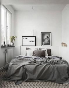 Mind-Blowing Minimalist Bedroom Color Inspiration (21)