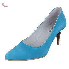 Ital-Design , Escarpins femme - Bleu - Bleu clair, 44 EU - Chaussures ital design (*Partner-Link)
