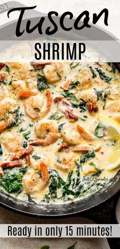 Shrimp Recipes For Dinner, Shrimp Recipes Easy, Seafood Dinner, Fish Recipes, Seafood Recipes, Cooking Recipes, Healthy Recipes, Chicken Recipes, Creamy Garlic Shrimp Recipe