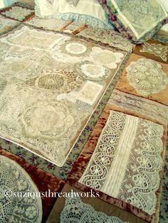 lace quilt idea