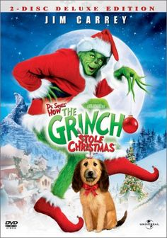 Rent How the Grinch Stole Christmas starring Jim Carrey and Taylor Momsen on DVD and Blu-ray. Get unlimited DVD Movies & TV Shows delivered to your door with no late fees, ever. The Grinch Dvd, Il Grinch, Dr Seuss Grinch, Grinch Who Stole Christmas, Dr Suess, Grinch Party, Grinch Punch, Jim Carrey, Kids Movies 2000