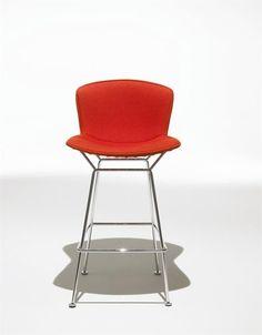 Silla alta de diseño de Harry Bertoia - Knoll international