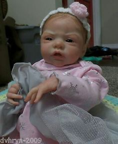 Reborn Baby Quinlynn Kit Laura Lee Eagles Sold Out World