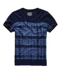 Superdry Orange Label Indigo T-shirt