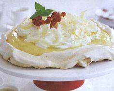 Lemon Meringue Mousse Cake