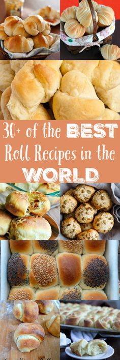 30+ of the Best Roll Recipes via @clarkscondensed