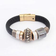 Cheap bracelet wood, Buy Quality bracelet leather beads directly from China leather bracelet bead Suppliers: 2015 New Crystal Turkish Evil Eye Bracelet for Women Pulseras Mujer Fashion Pearl Bracelets & Bangles Fine Jewelry W