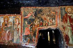 Leggende connesse al Santuario di S. Michele nel Gargano -Sutri Madonna del Parto   #TuscanyAgriturismoGiratola